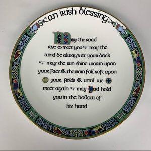 Royal Tara An Irish Blessing Fine Bone China Plate